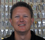 Chris Dilley, Co-Owner  20 years locksmith Industry