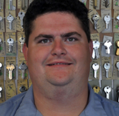 Mike Melton  Locksmith Tech  7 years with company